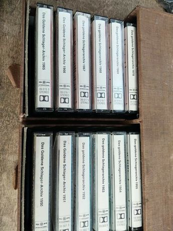 Sprzedam kolekcje kaset
