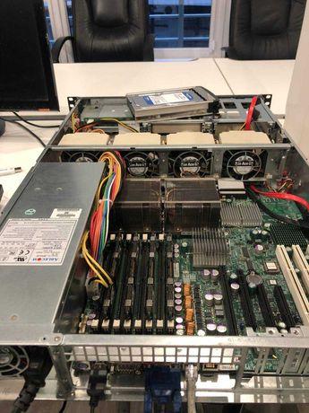 Сервер Supermicro 2 x Xeon