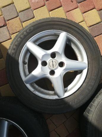 "Felgi aluminiowe ENZO z oponami 15"" 4x98 ET 35 FIAT , LANCIA"