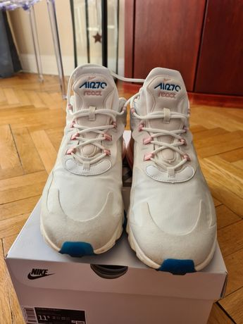 Nike Air max React 270, summit white, białe, AO4971