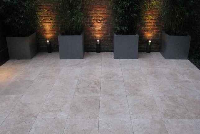 Płytki Trawertyn Classic beż, szlifowany i wypełniany Kamień Naturalny