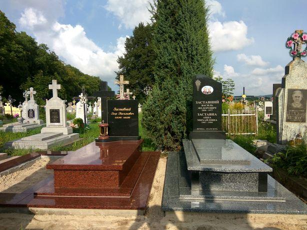 Пам'ятники гранітні! Виготовлення, встановлення Львів та Львівська обл