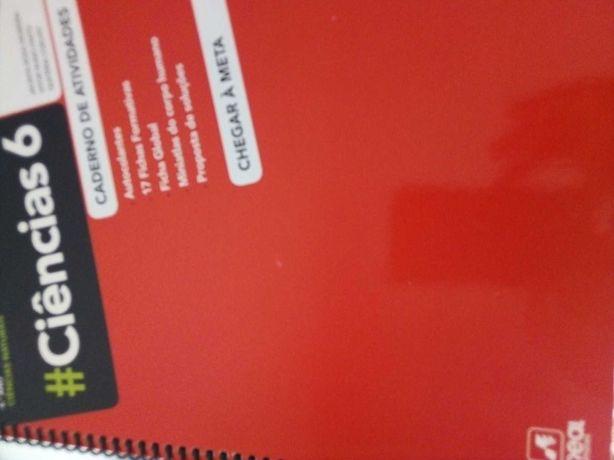 Cadernos de atividades de várias disciplinas 6º e 7º ano 3€ Cada.