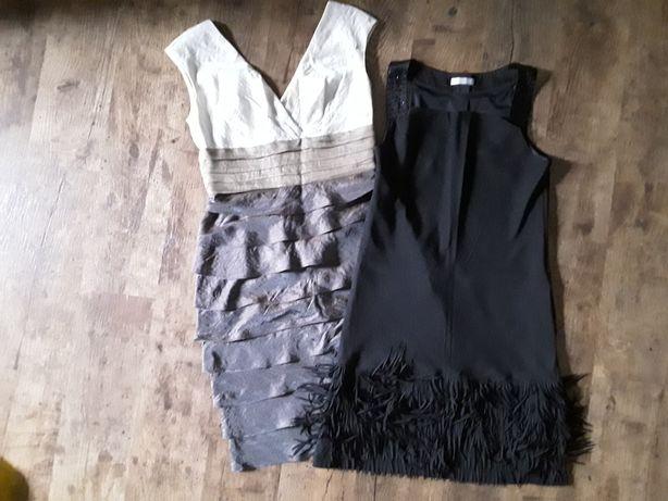 Sukienki wieczorowe 2 szt