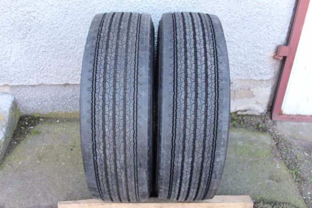 2x Michelin XZA1 285/60R22,5 - 285 60 R22,5 100%