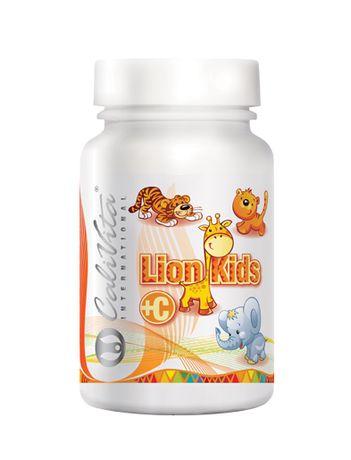 Naturalna witamina C dla małych dzieci do ssania Lion Kids C Calivita