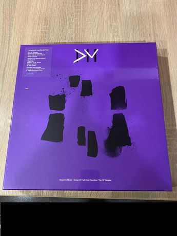 "Depeche Mode – Songs Of Faith And Devotion | The 12"" Singles wyd.USA"