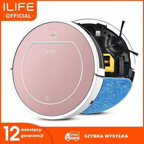 iLife V7S Inteligentny odkurzacz Robot - Różowy!