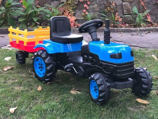 Трактор педальный с прицепом Супер цена !!! 4 расцветки