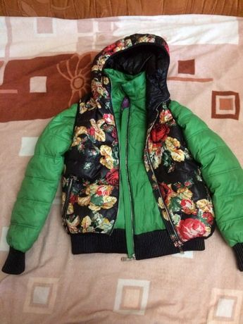 Зимняя демисезонная куртка жилетка пуховик
