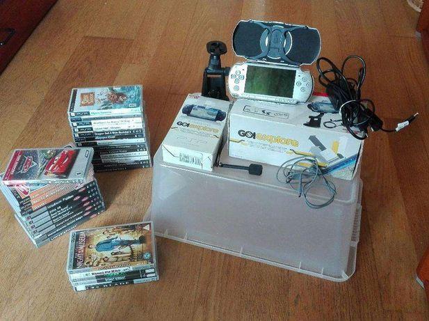 PSP Jogos Filmes Acessórios