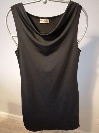 Elegancka czarna sukienka, r. 38 !!!