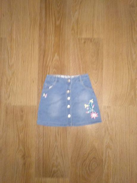 Юбка джинсовая YD H&M  2-3 года
