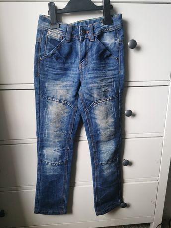 Nowe Jeansy dla chlopca rozm 128 - 134