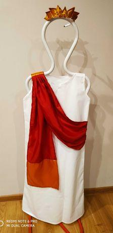 Strój bogini greckiej, boga greckiego, Grek, Greczynka 140 cm, 10 lat