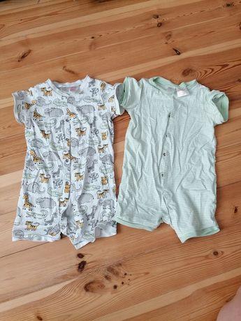 Bawełniana piżama 2 pak h&m