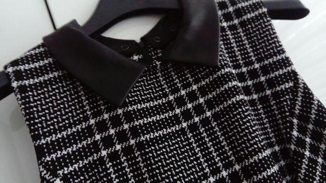 Sukienka w kratę Orsay M