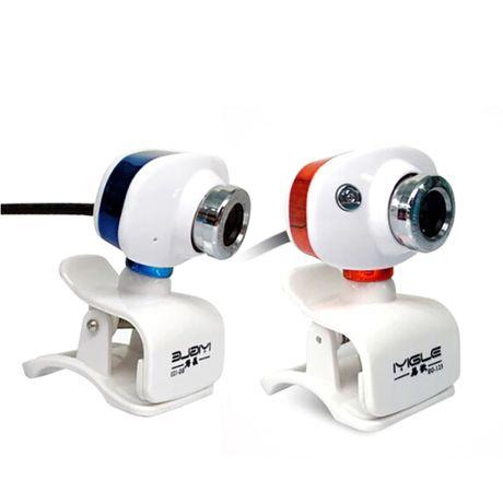 Nowa Kamera internetowa HD z mikrofonem obrotowa 360 do nauki lekcje