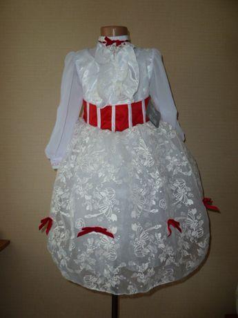 Новое нарядное платье на 5-6 лет, диснеевская принцесса