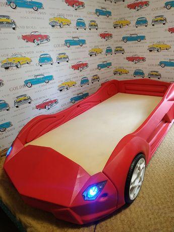 Ліжко дитяче машинка