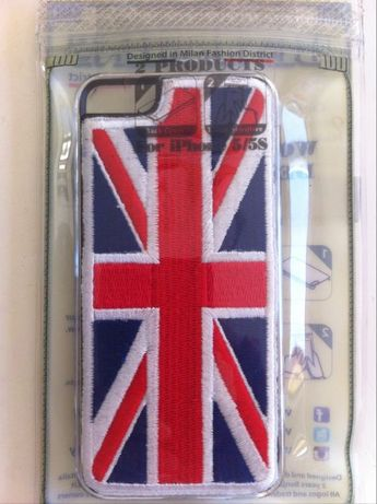 iPhone capa para 5/5S nova na embalagem