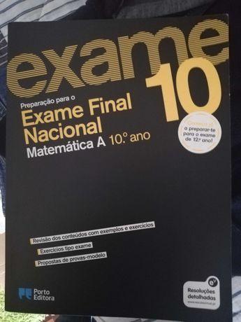 Livro Preparação para o Exame Final Nacional Matemática A 10.º Ano