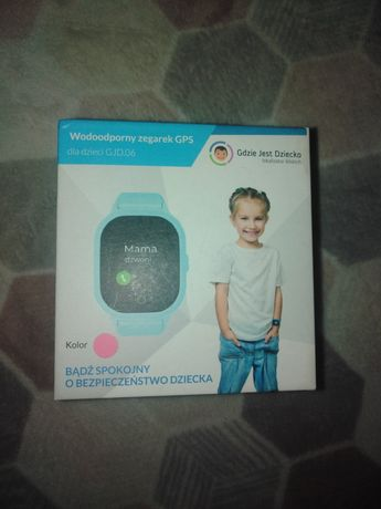 Wodoodporny zegarek GPS dla dziecka