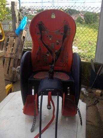 Cadeira para aplicar na bicicleta