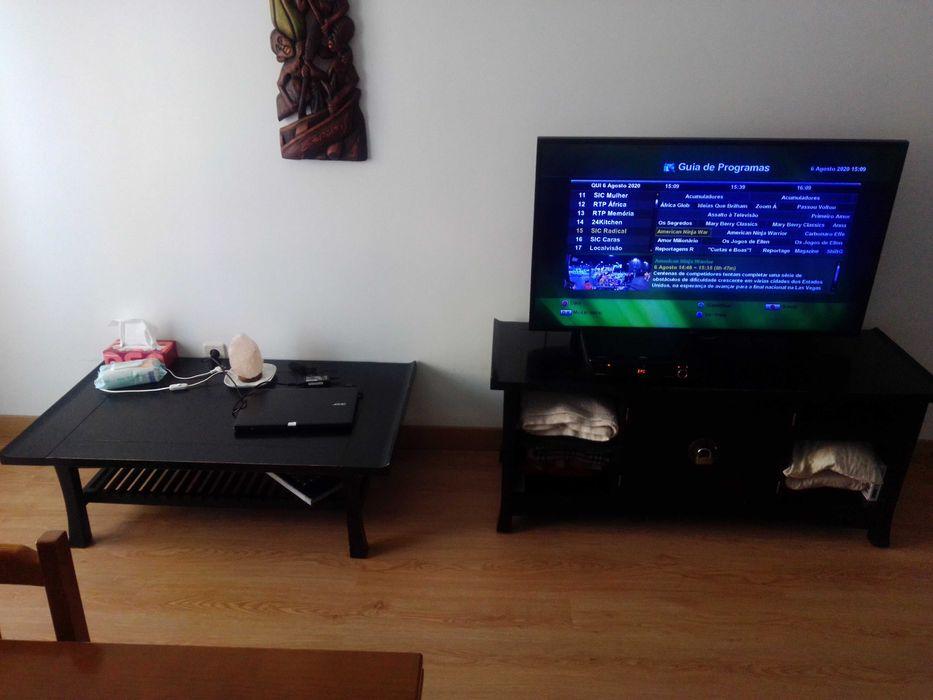 Móvel TV & mesa baixa Estilo Rústico Esmoriz - imagem 1