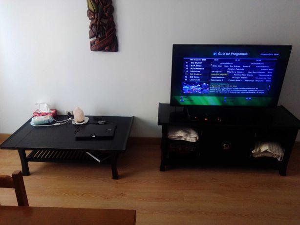 Móvel TV & mesa baixa Estilo Rústico