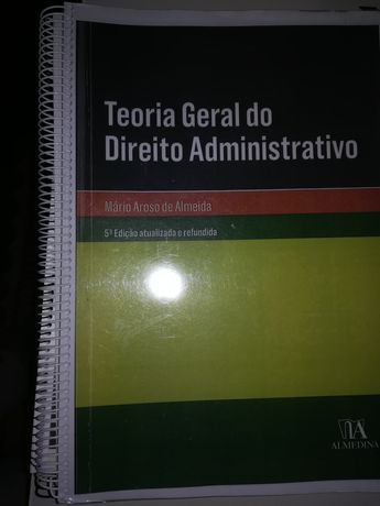 Teoria geral do direito administrativo 5 edição