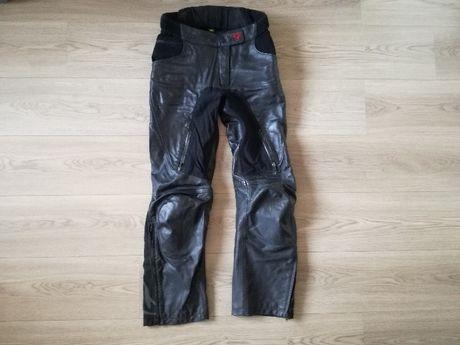 Macna spodnie motocyklowe damskie skóra S M L