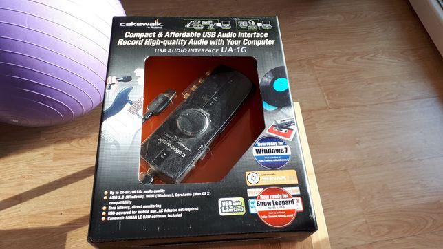 Roland Edirol Cakewalk UA-1G karta muzyczna USB