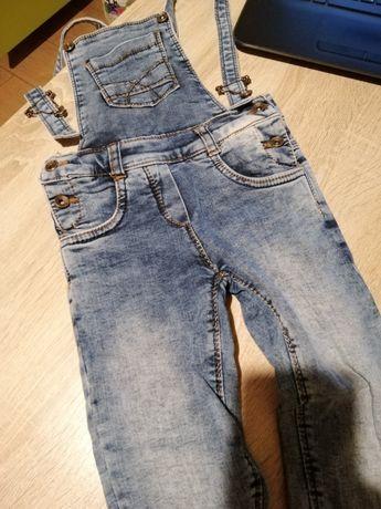 Джинсовый комбинезон для девочки, джинсы