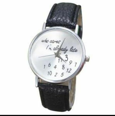 Zegarek, napis