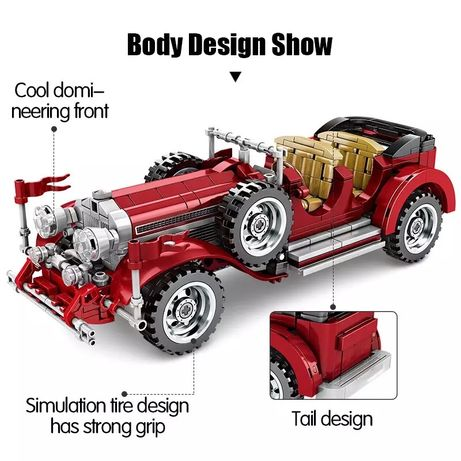Лего техник LEGO TECHNIK конструктор ретро машина