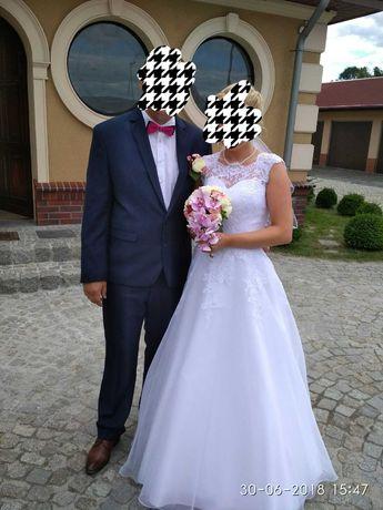 Prześliczna suknia ślubna rozmiar 36/38