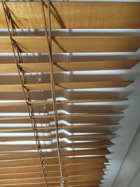Żaluzje rolety drewniane IKEA 120x160 cm loft