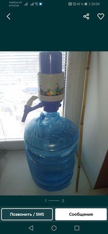 Бутыль с помпой 19 л