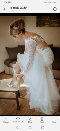 Suknia ślubna Riki Dalal 36 38 40