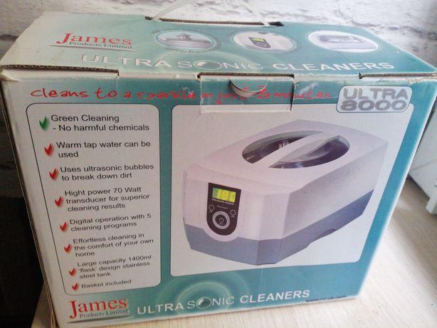 myjka soniczna Cleaner ultra sonic 800 james
