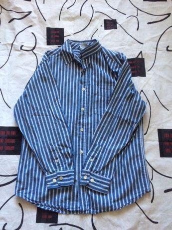 школьная рубашка для/ на мальчика Old Navy (рост 152)