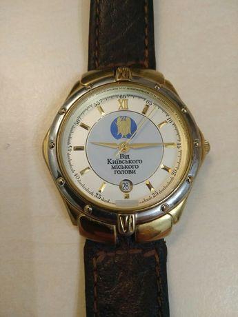 Позолота, наручные часы, Від Київського міського голови