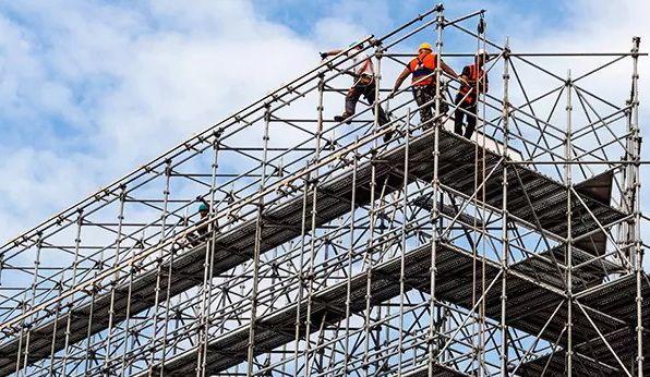 Аренда строительных лесов большими объёмами доставка Кропивницкий