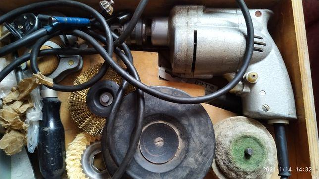 Электрическая дрель электро дрель электродрель комплект