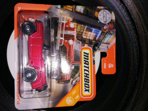 Matchbox 1948 willys jeepster