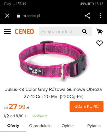 Obroża dla psa Julius-K9