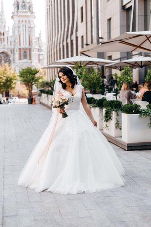 Шикарное свадебное платье!!! Не венчанное!!! Сезон 2019 !!!