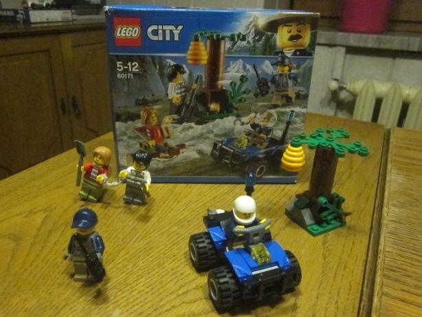 klocki lego city -zółty kokon