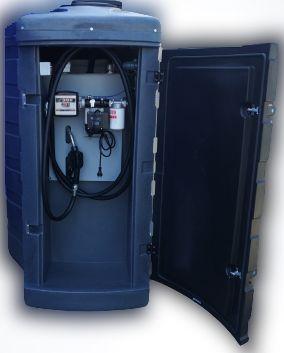 Zbiornik dwupłaszczowy na paliwo rope olej napędowy 1500L MSX/ NOLEN/
